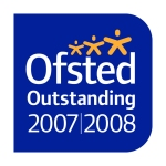 Ofsted logo for 'outstanding' status